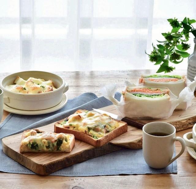 いつもの「食パン」をもっと楽しむ!可能性無限大のアレンジレシピ