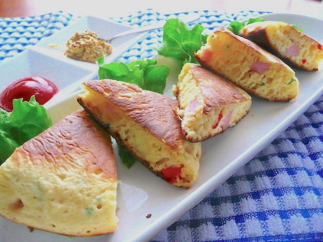具だくさんが嬉しい!HMで作る「おかずホットケーキ」が朝食におすすめ