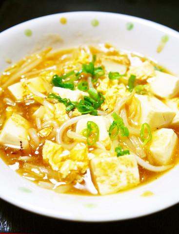 甘酢でごはんが進む☆節約食材であと一品に「もやしと卵の中華風あんかけ」
