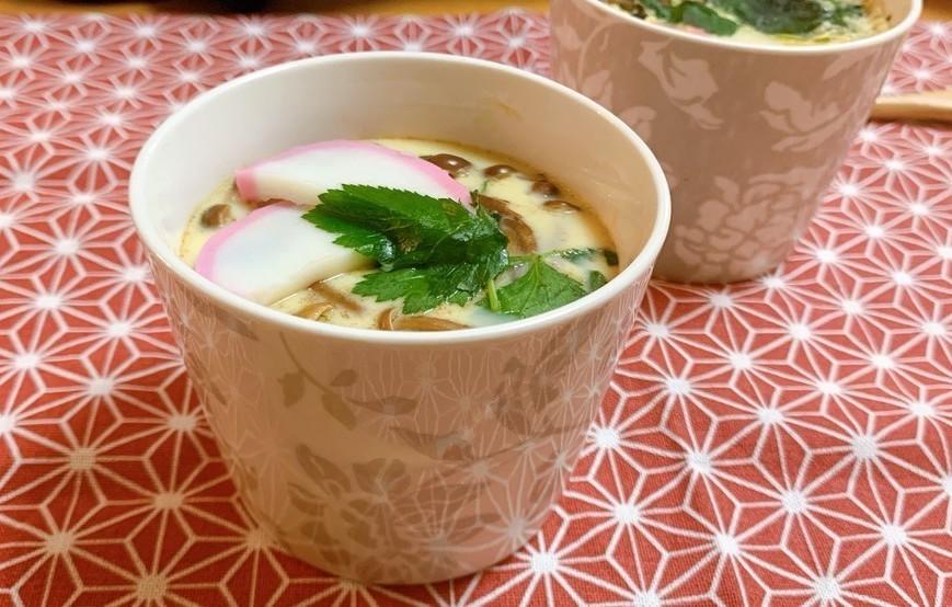 寒い季節にほっこりあったか♪意外と簡単な「茶碗蒸し」の作り方【SKE48高柳明音のお料理レッスン Vol.4】
