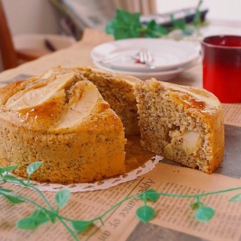ホットケーキミックスで簡単に作れる「りんご&紅茶」スイーツ