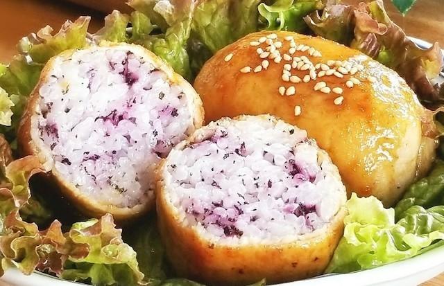 【食べざかりの子どものお弁当に】スタミナ満点!「肉巻きおにぎり」のアレンジバリエ