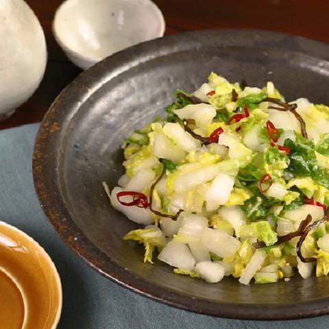 大量消費にも◎やみつきになるおいしさ!「白菜だけ」で作れる常備菜5選
