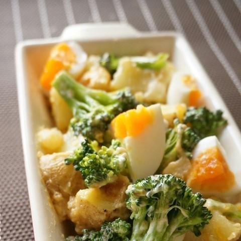 デパ地下風の見栄え♪「ブロッコリー×卵」で作るお手軽サラダ5選