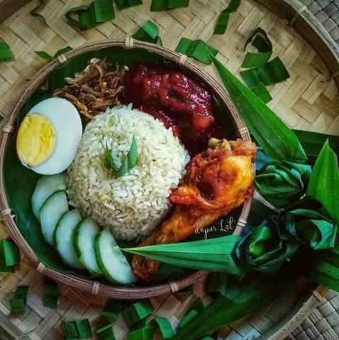 カフェ風おしゃれ朝食♪マレーシアの「チキンのワンプレート」【世界のクックパッドごはん】