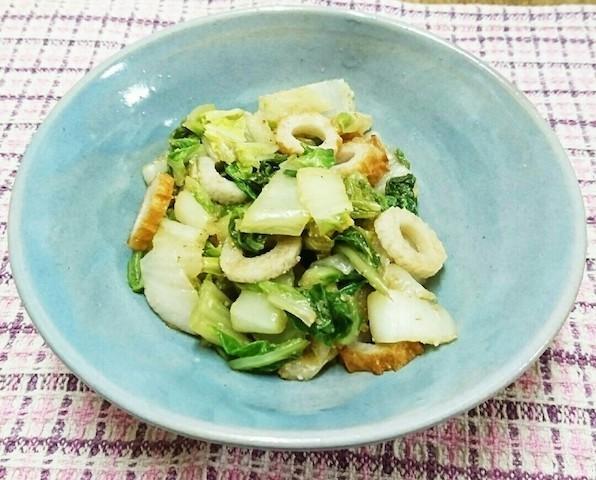 冷蔵庫にあるモノで!「白菜+常備食材1品」で作れるかんたん副菜5選