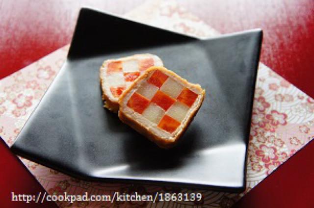 縁起の良い見た目を楽しんで!「市松模様」のお弁当レシピ集