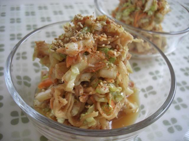 乾物フル活用!滋味深い味わい「白菜×切り干し大根」副菜3選