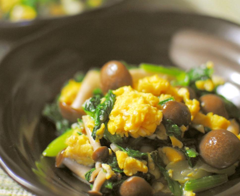 胃腸炎予防には「免疫力」がポイント!舞茸&小松菜レシピ