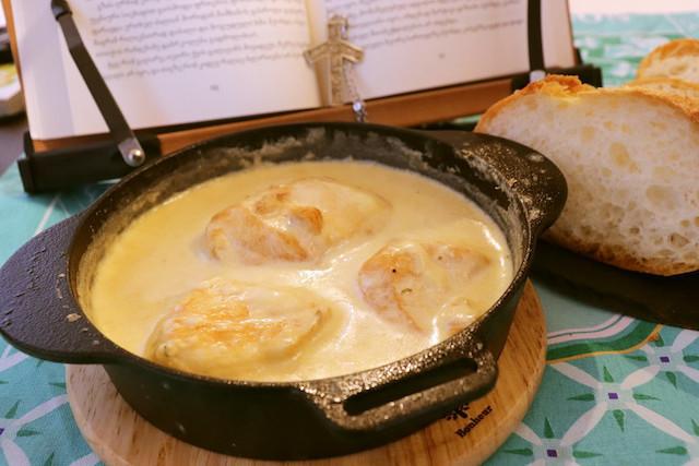 身近な材料で作れる「シュクメルリ」にハマる人続出!にんにくとチーズのハーモニーが絶品♪