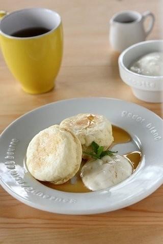 休日の朝食に◎フライパンでお手軽「ホットビスケット」がアツアツ美味しい♪