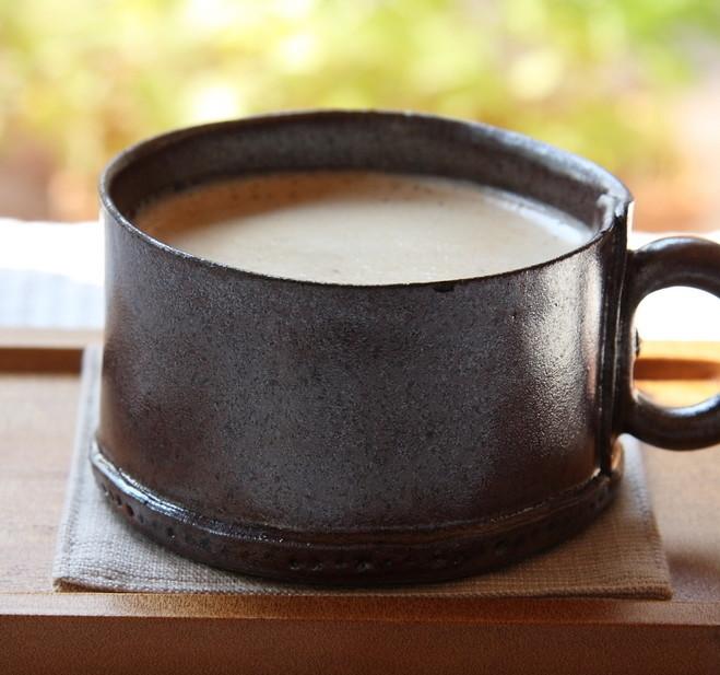 ほっこりあたたまる♪「日本茶ミルクティー」があっという間にできておいしい