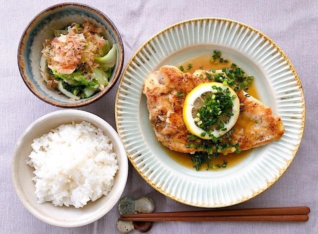 バタポン味の「鶏むねステーキ」が絶品&満足感ハンパないっ!【ふたしな献立】