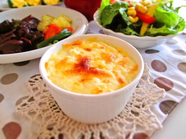 ワインのおともに◎「冬野菜のチーズココット」がアツアツ美味