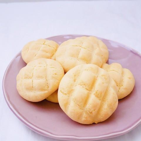 ホケミで簡単♪サクサクかわいい「メロンパンクッキー」を作ってみよう