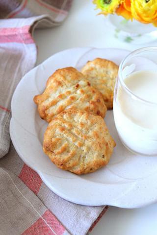 【卵、バター不要】ホケミで作れる簡単「クッキー」がサクッと美味♪