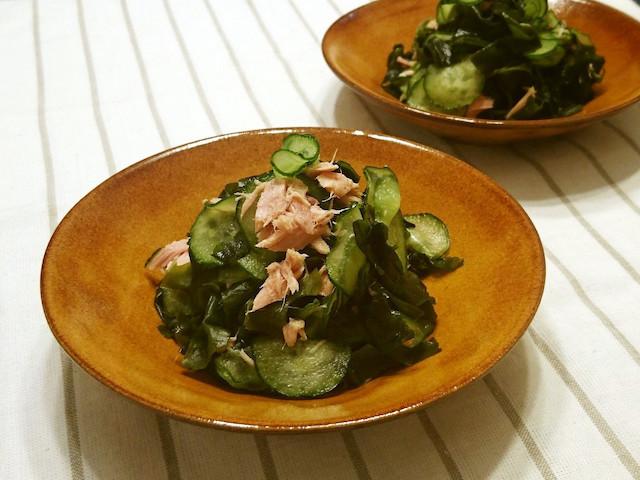 さっぱり味からこってり味まで♪「きゅうりとツナ」で作る即席副菜