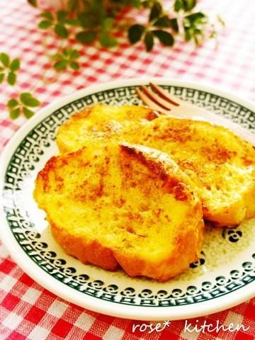 牛乳なしで作れる!「フレンチトースト」のアレンジバリエ