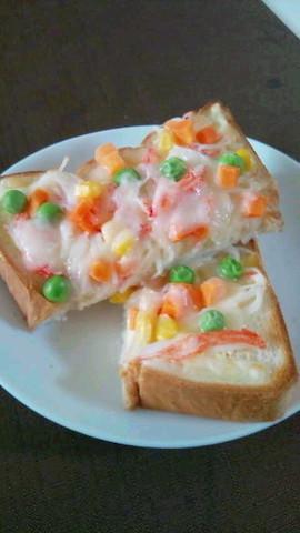 のせて焼くだけ「ミックスベジタブルトースト」が特急朝食に◎