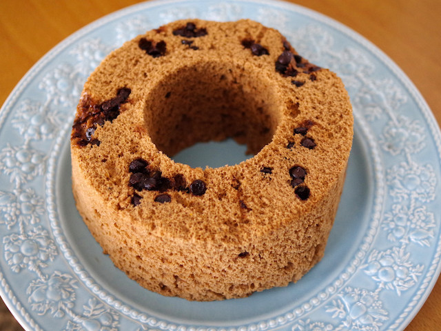 おうちでカフェ気分♪レンジで失敗なしの「ふわふわシフォンケーキ」