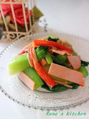 炒めものだけじゃない!「青梗菜」のサラダレシピ