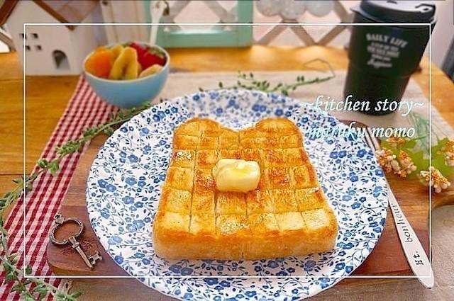 切り方と焼き方がポイント!いつもの「トースト」が超もちふわ食感になる裏ワザ