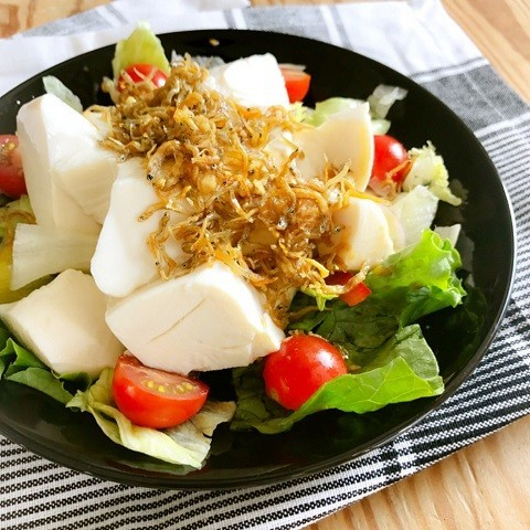 このひと皿で大満足!「パワーサラダ風」で野菜をたっぷり食べよう