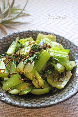 あると便利な万能調味料!「塩こんぶの副菜」がレンチンで速攻完成
