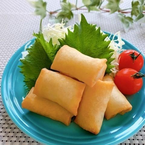 色々包んでパリッと美味しい!お弁当に入れたい「春巻き」バリエーション