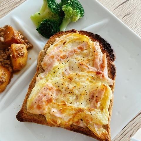 ひとりランチに!満足感◎「おかず系トースト」味バリエ