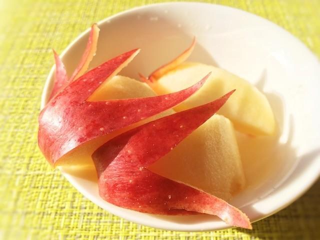 塩水だけじゃない!「りんご」の変色防止は◯◯でさらにおいしくなる!