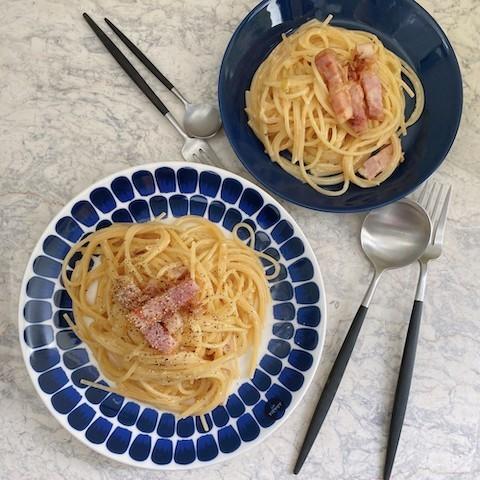 幸せなレシピの引き出しを作る!「お子様カルボナーラ」で家族ごはんを。【料理で子どもの好きを見つける vol.6】