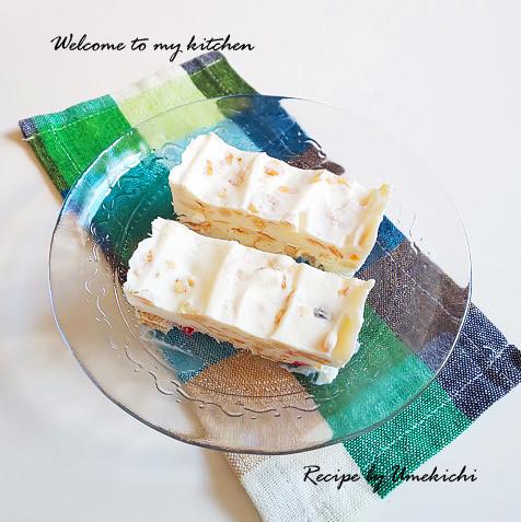 混ぜて冷やすだけ!「イタリア風アイスケーキ」が簡単おいしい♪