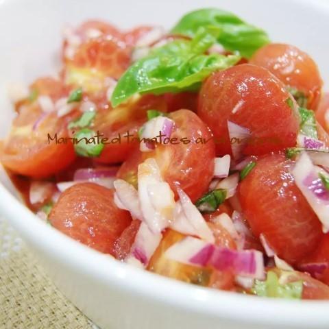 キーンと冷たい!作りおきできる「トマトの冷菜」5選