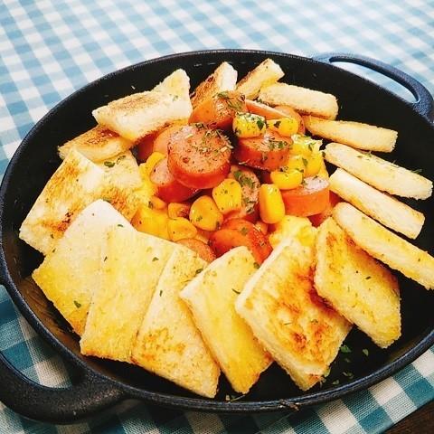 子どもも元気に完食!「ウインナー×たまご」で作る朝ごはんレシピ