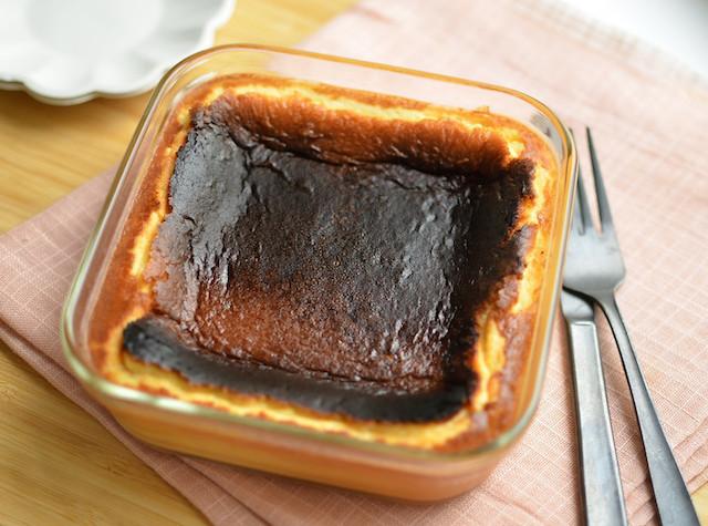 トースターで簡単作れる!「バスクチーズケーキ」がとろとろ美味♪