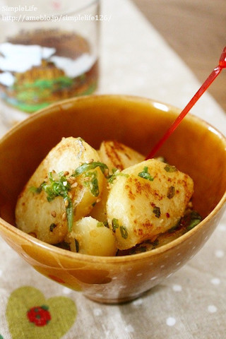 お弁当に◎材料1つ「ポテトだけ」で作れる簡単おかず