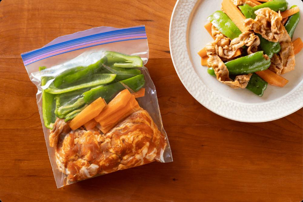 【そのまま1品に変身】「肉×野菜」の下味冷凍が便利すぎる!