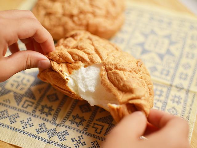 材料3つでふわふわのパンができた!?SNS動画で話題の「雲パン」に注目♪