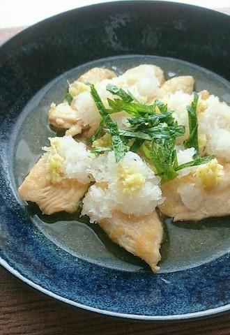 残暑が厳しい日にも☆サッとできる「鶏のおろし煮」のあっさり献立