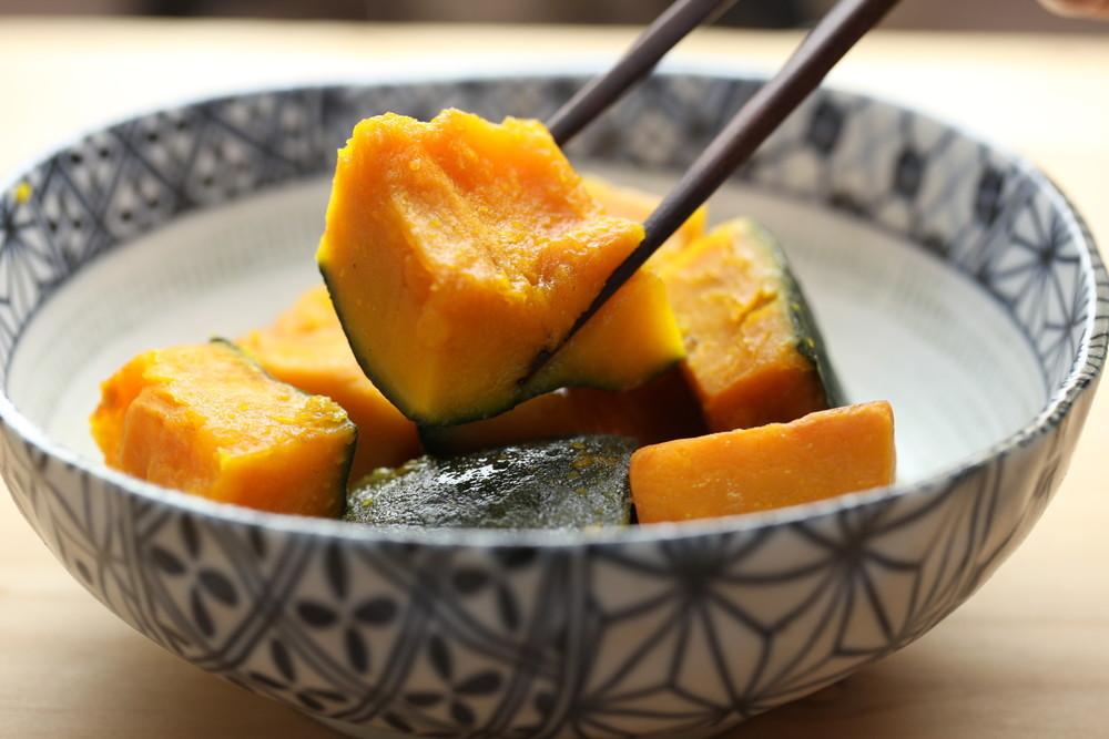 【早ワザ】「かぼちゃ」の煮物が10分でホクホクに仕上がる方法
