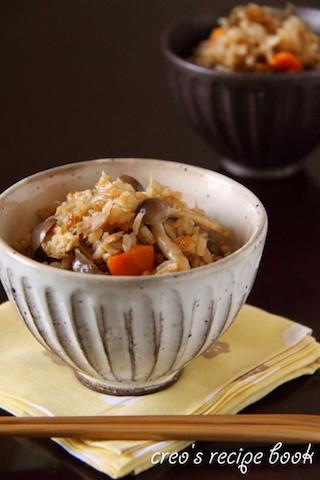 秋の味覚を贅沢に味わう!お弁当にもピッタリな「炊き込みご飯」