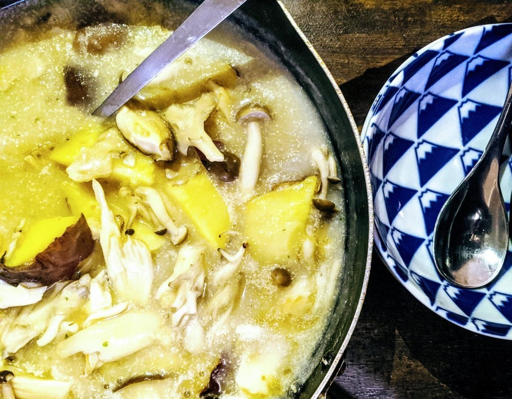 誰かと一緒に食べたくなる、「さつま芋と南瓜」のクリームシチュー【数字のないレシピたち Vol.14】