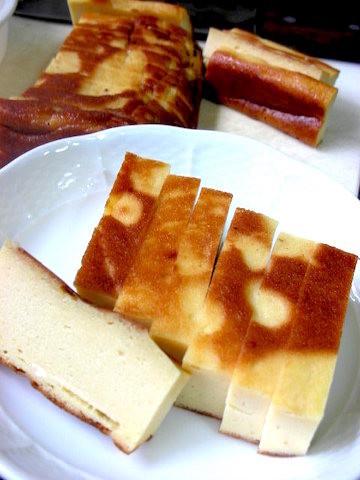 身近な材料4つでできる!秋田の名物「豆腐カステラ」でティータイムを