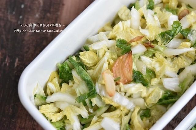 鍋だけじゃない!サラダや漬物でも楽しめる「白菜」の作りおき