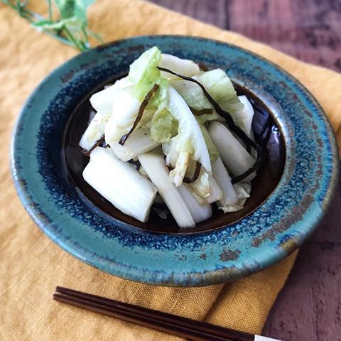 """こってりおかずの箸休めに!""""5分""""でできちゃう「白菜のさっぱり副菜」"""
