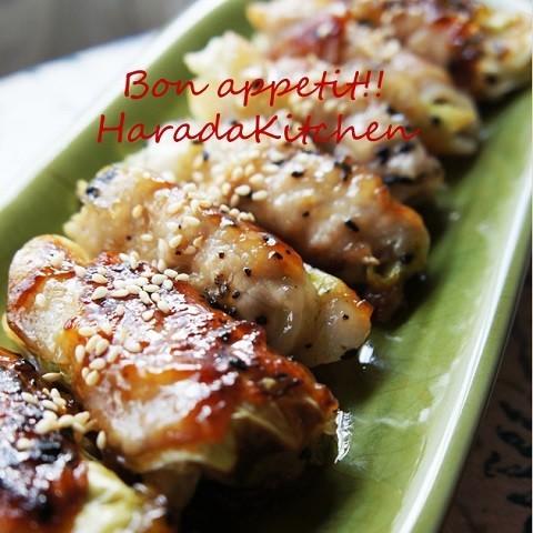 キャベツやえのきで!10分で作れる「豚肉ロール」レシピ5選