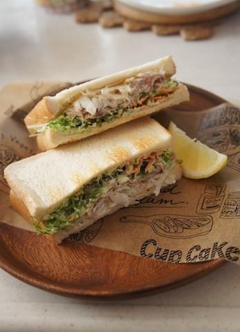 満足度◎具材たっぷりな「朝サンドイッチ」のススメ【人気作者のイチ推しレシピ♪ 】