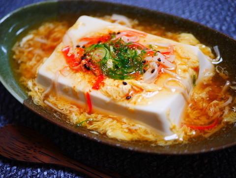 5分で完成!体が温まる「あんかけ豆腐」がほっこりおいしい