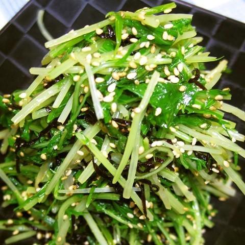 あと一品に◎「水菜」だけで作れる副菜レシピ、集めました